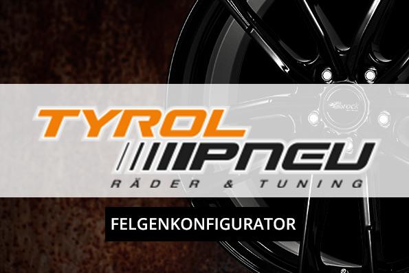 TYROL PNEU - Felgenkonfigurator